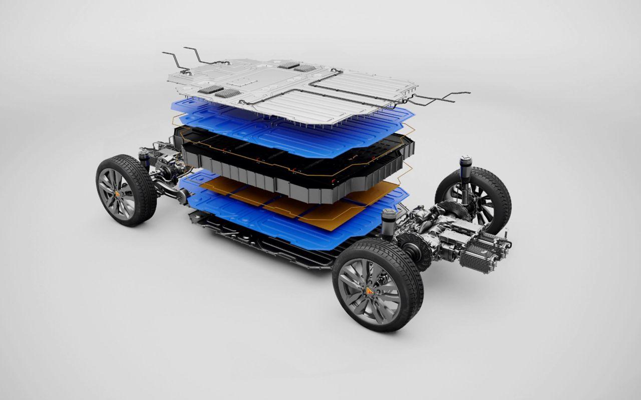Automotive electric vehicle adhesive, coating, potting, encapsulation, filler solutions