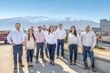 Employees from Sika Chile