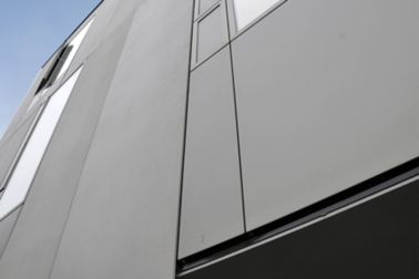reference of a sikaTack panel application on a building facade
