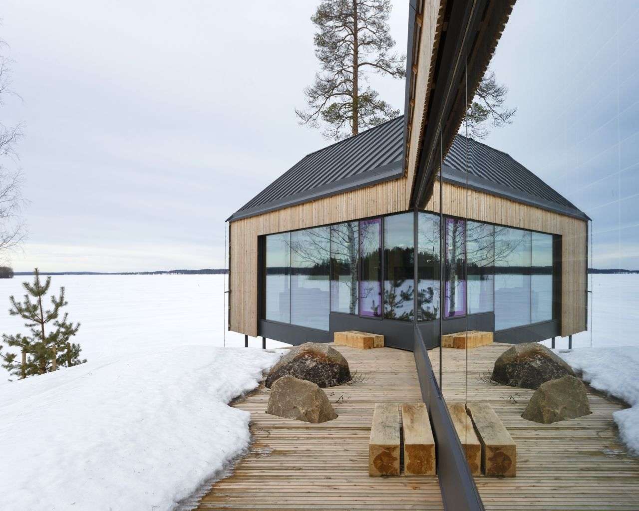 Smart House  with Y design -  Finland