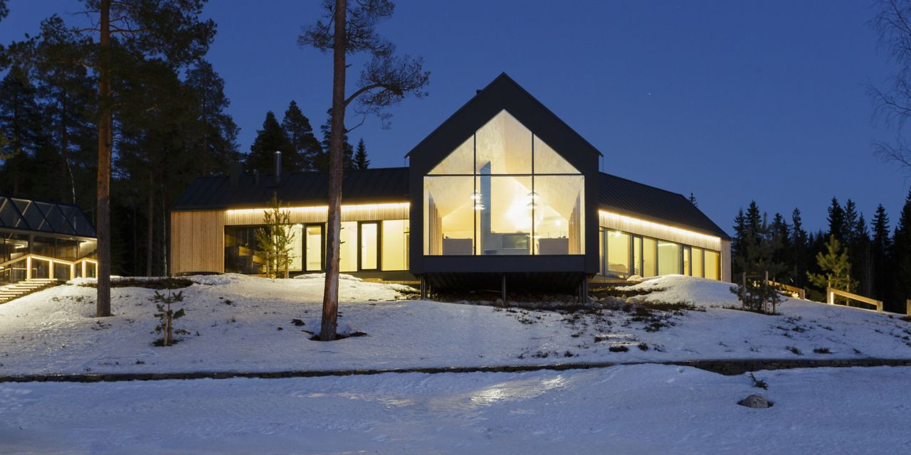 Smart house Living with the rotation of the sun - Finland