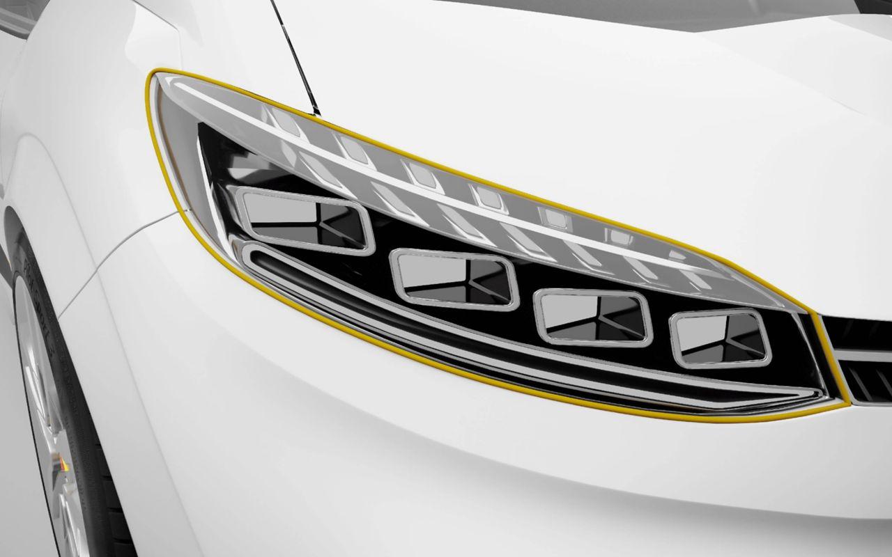 Automotive exterior component adhesive bonding solutions
