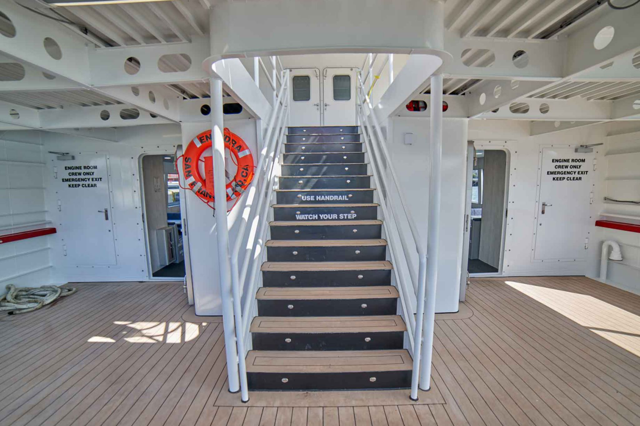 Sika Teak deck for passenger vessel