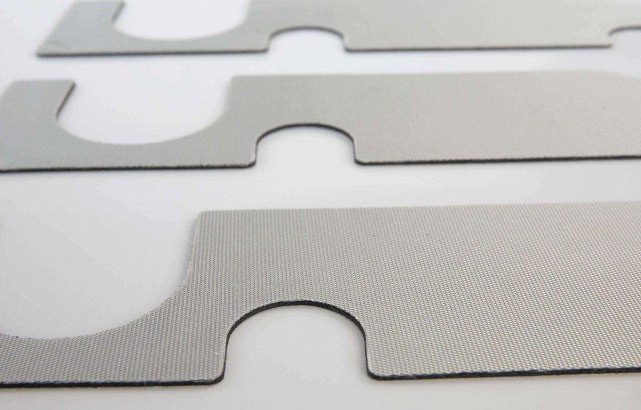 custom die cut hybrid SikaDamp material