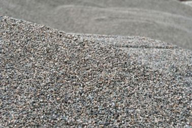 Aggregates are added to concrete formulation