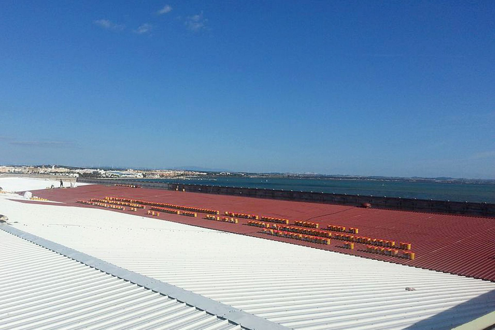 Roof of an Aircraft Factory in Cadiz