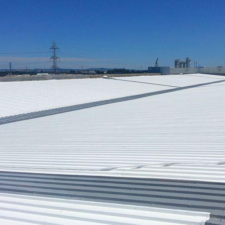 一个飞机厂在加的斯屋顶