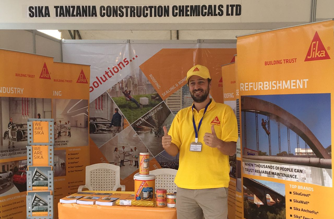 Alfonso Paradinas, Country Manager Sika Tanzania Construction Chemicals Ltd.