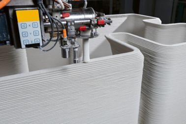 由Sika开发的专利打印头用于3D混凝土印刷