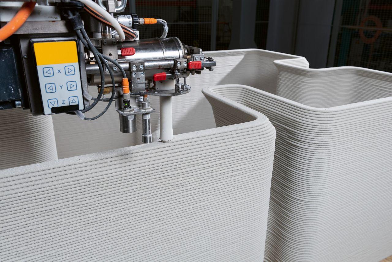西卡公司研发的3D混凝土打印专利打印头