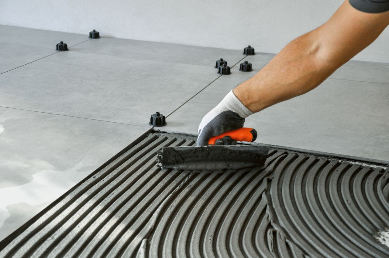 Tiles setting materials