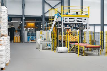 The new Sika mortar factory in Sydney, Australia