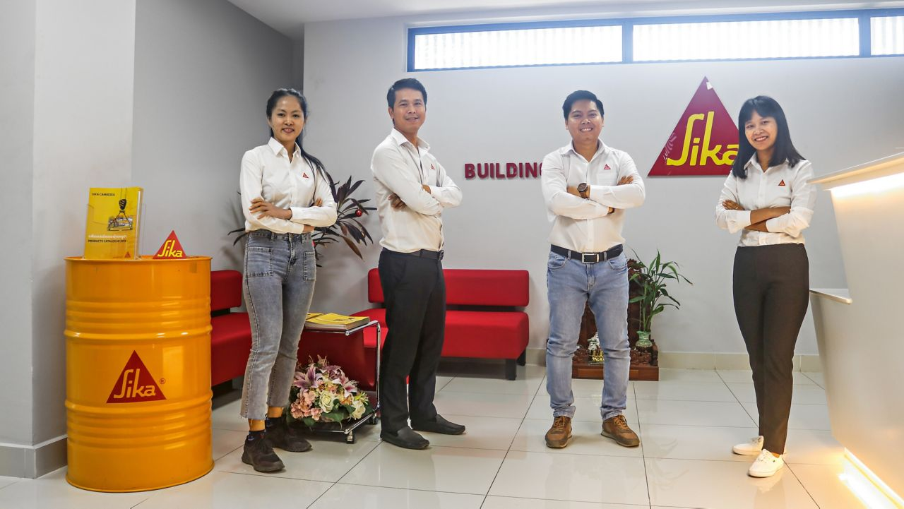 Sika Cambodia – Team Sales, Supply Chain, and IT