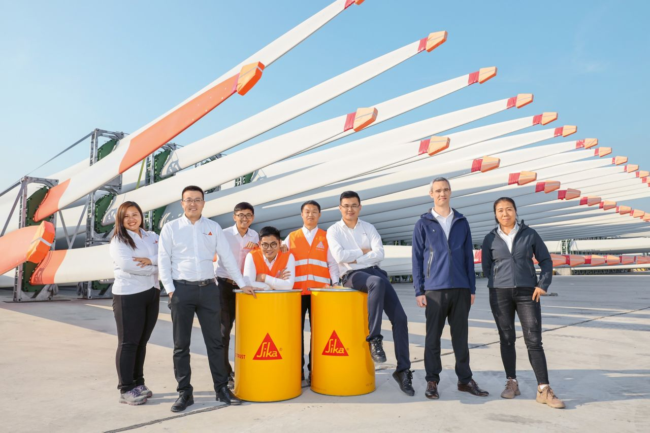 Sika China – Team Industry and Advanced Resin