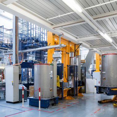 Sika's adhesives production in Düdingen, Switzerland