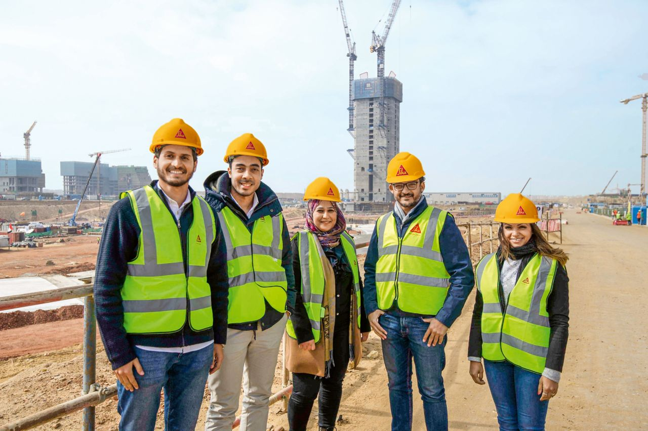 Sika Egypt – Project Team New Administrative Megacity