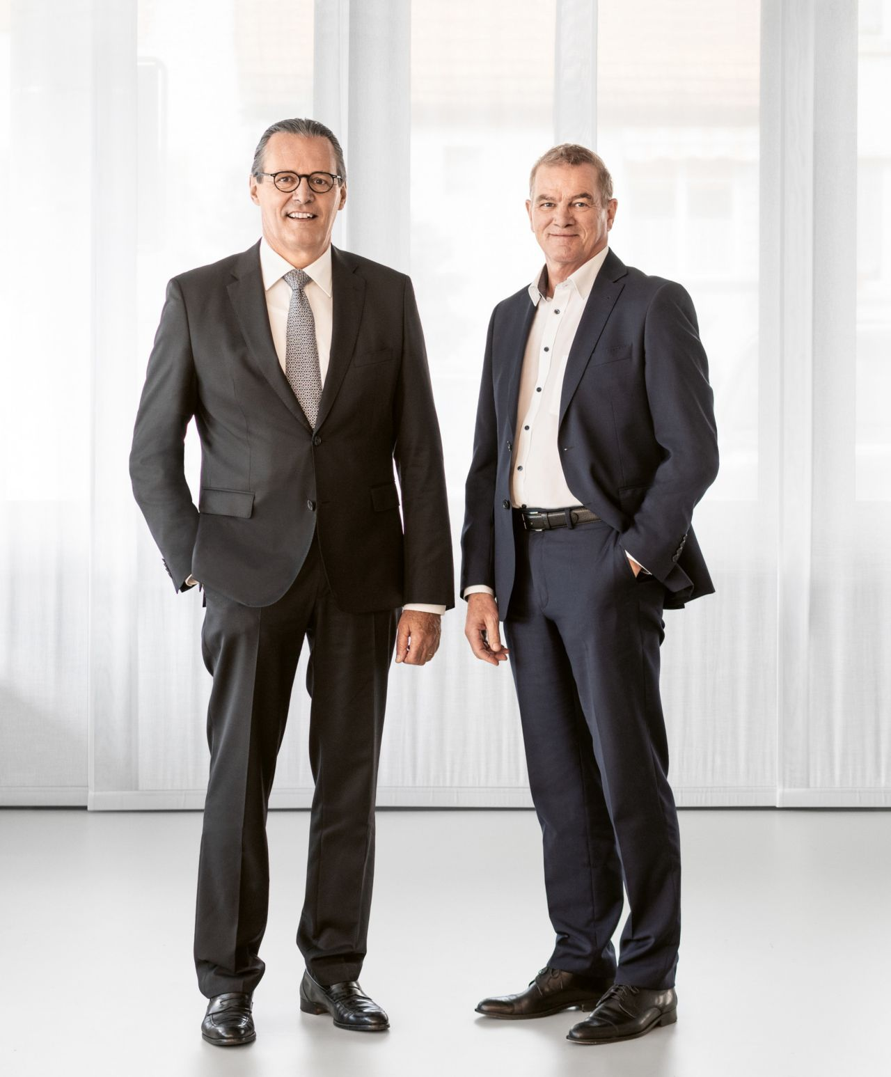 Paul Hälg, Chair of the Board of Directors, and Paul Schuler,  Chief Executive Officer