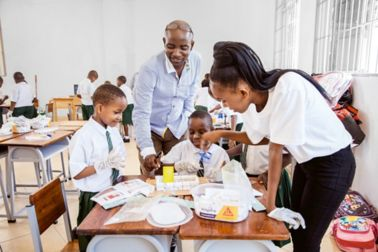 """As part of the """"Sika Cares"""" community engagement program, the company promotes, among other things, the education of children and young adults"""