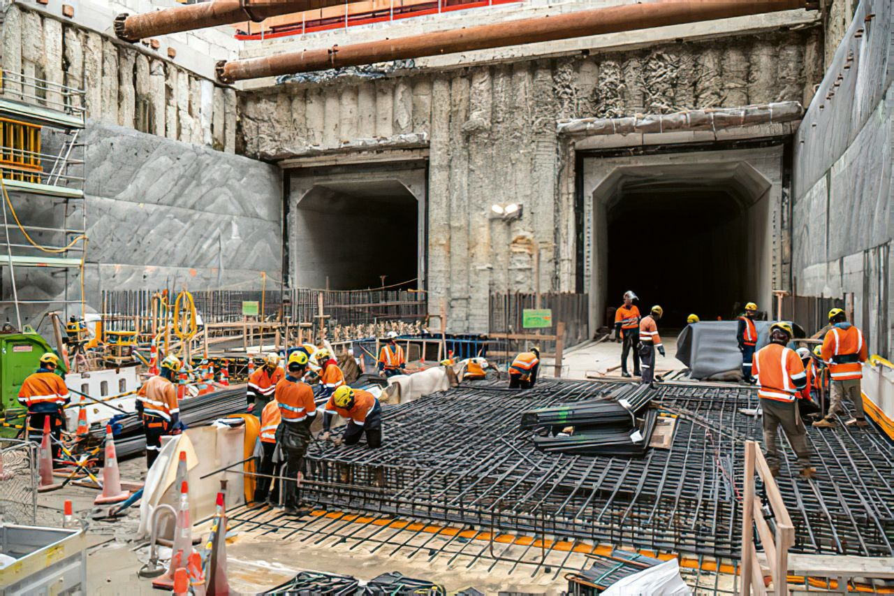 The City Rail Link is the largest infrastructure project ever to be undertaken in New Zealand