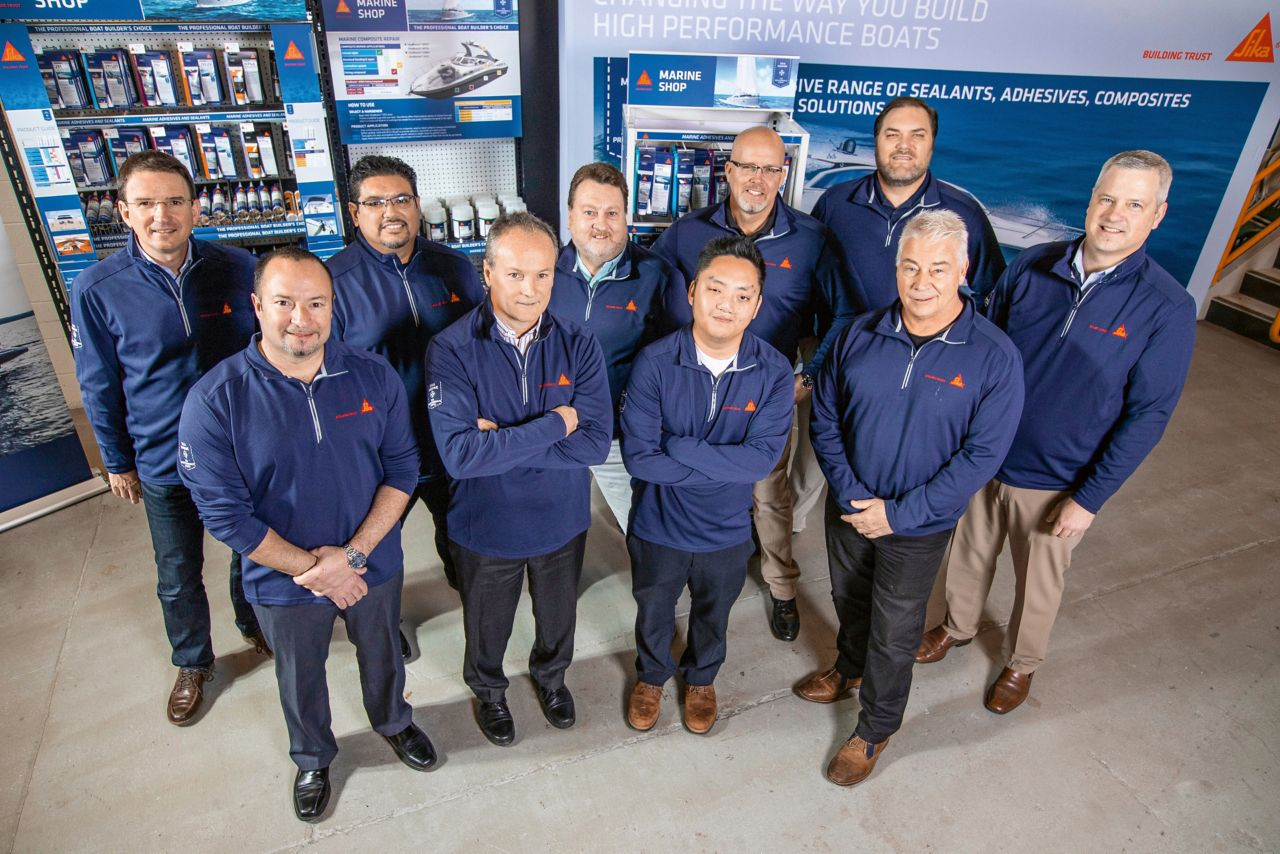 Sika USA – Team Marine