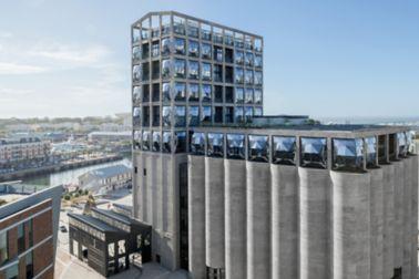 Zeitz南非开普敦的当代艺术博物馆:随着Sika的技术专长,旧的谷物筒仓被转变为开普敦的新地标。
