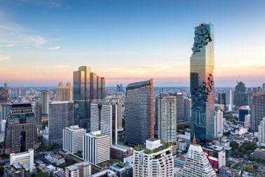 Mahanakorn Building in Bangkok, Thailand