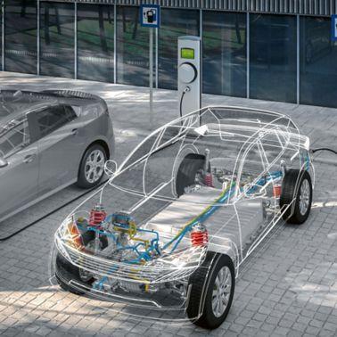 E-car batteries
