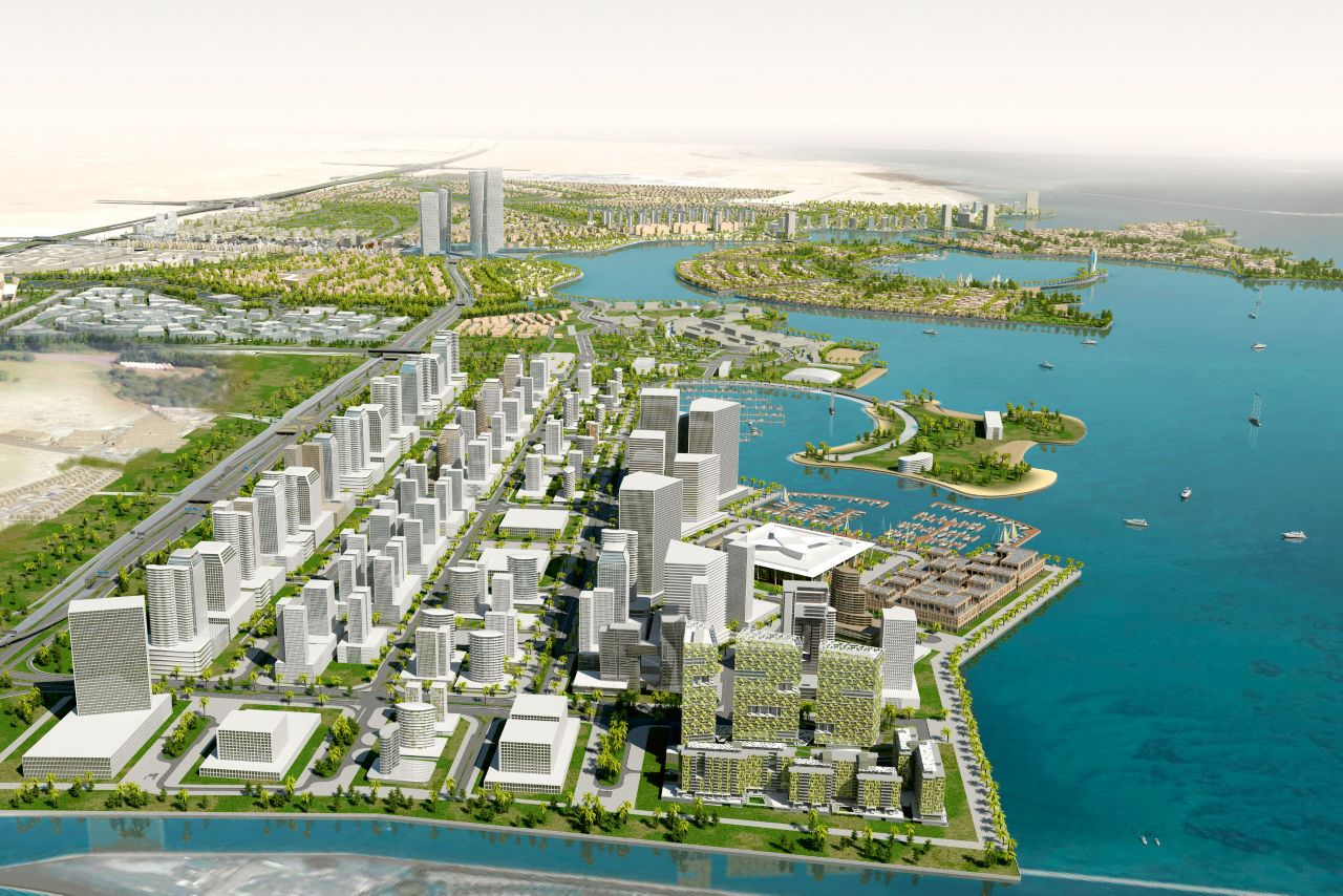 To the north of Doha, Qatar, a new city district that will be home to 450,000 people is springing up in the form of Lusail City. Its beating economic heart will be Commercial Boulevard.
