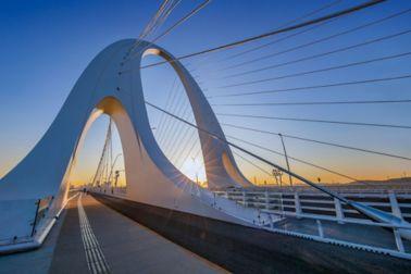 Xin Shougang Bridge in Beijing, China