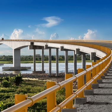 Yatí-Bodega Bridge, Colombia