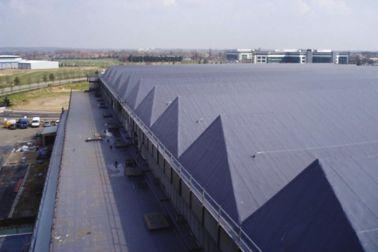 Comet hangar roof after renovation of bitumen roof