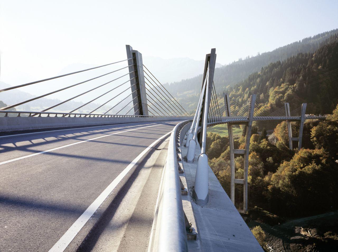 Bridge in Klosters Switzerland