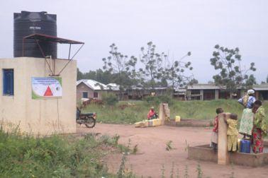 Water Source in Burundi