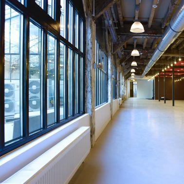 Floor of the Business Incubator 27 in Paris