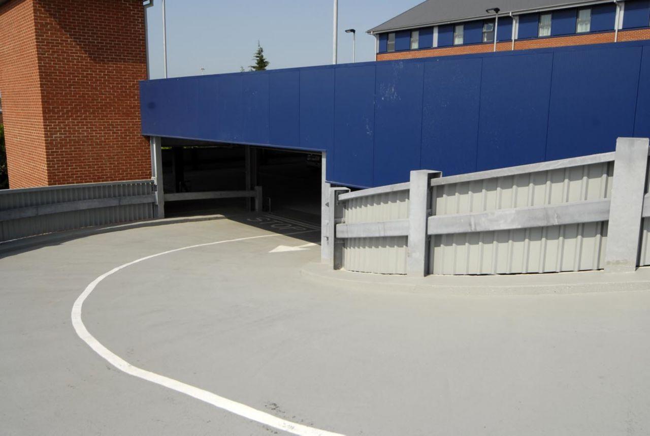 Car Parking Garage Ramp