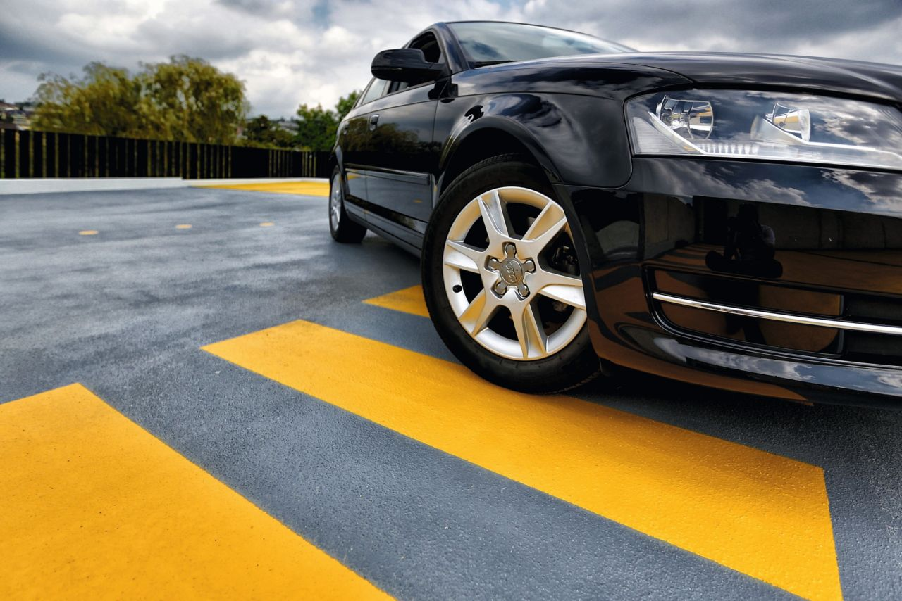 Car park deck joints