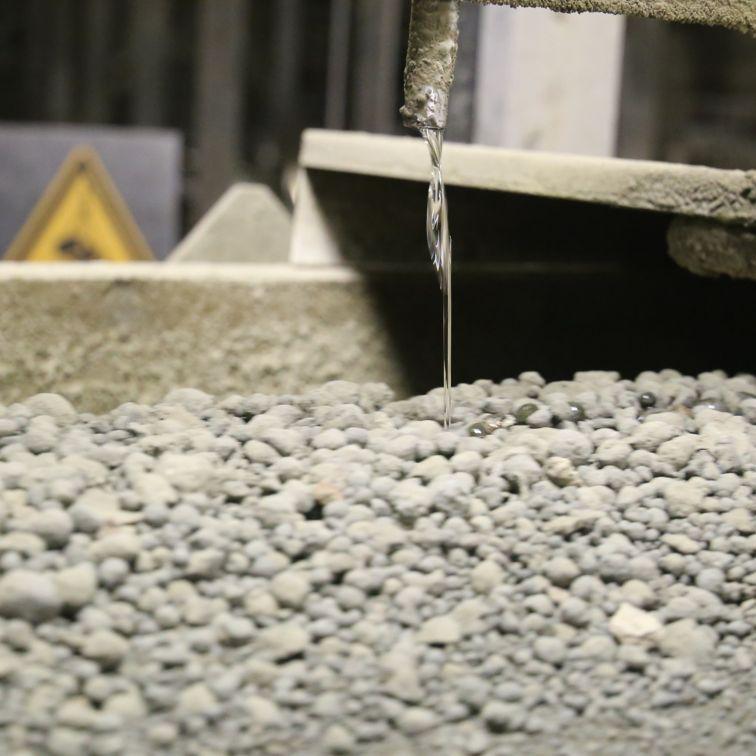 加入SikaGrind水泥添加剂的优质水泥生产