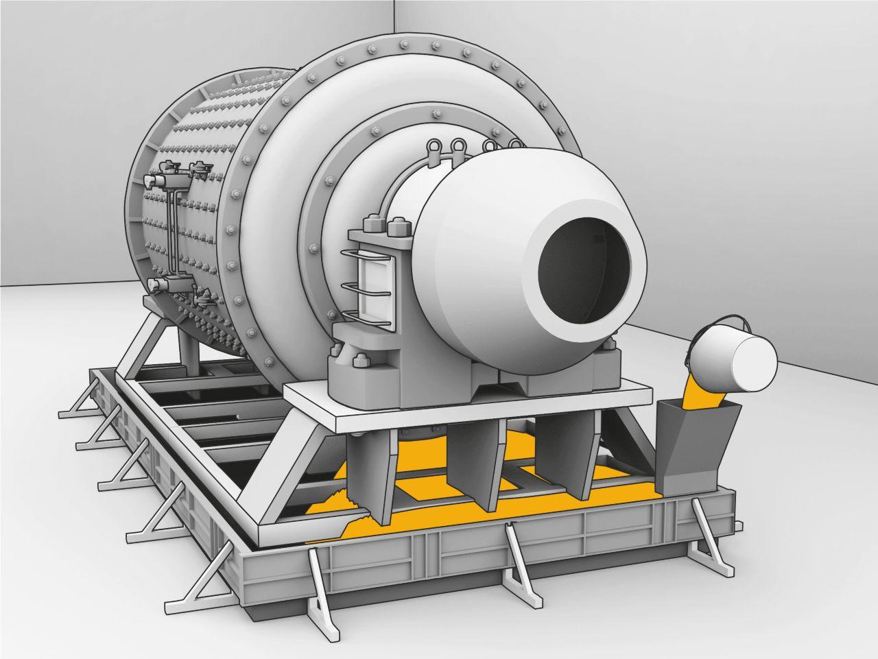 Podlivanje nosilnih podstavkov za stroje s SikaGrout cementno malto