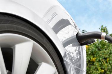 Electric cars charging Tesla