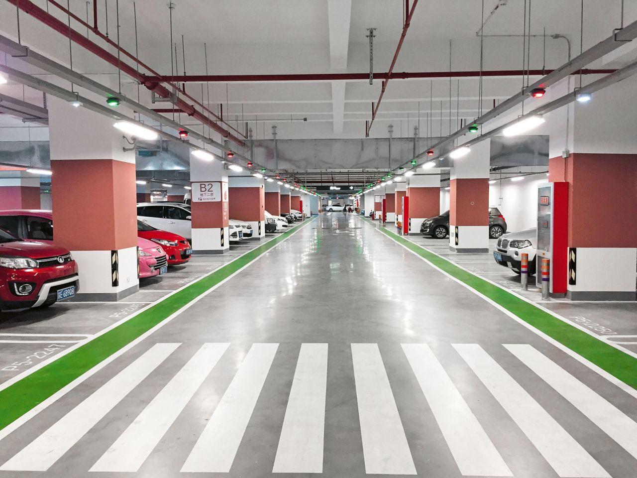 Parking garage in China