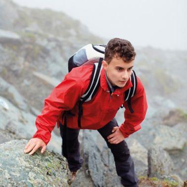 Climber with Jacket