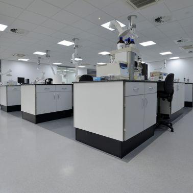 Decorative Comfortfloor of a Lab