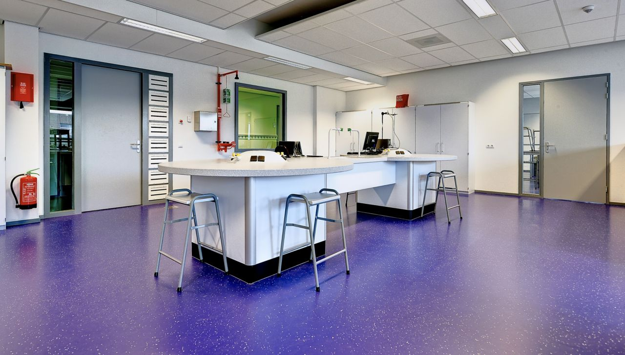 Decorative Comfortfloor of a Lab