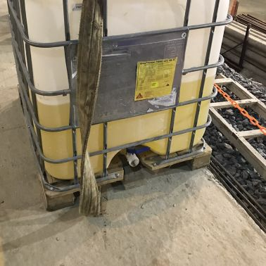 Concrete admixture at the construction of Tunnel Arroyo-Vega in Argentina