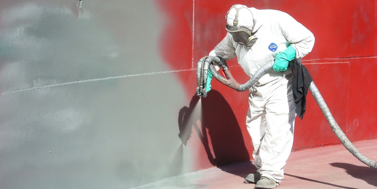 Concrete protection with Sikagard elastic protective coating