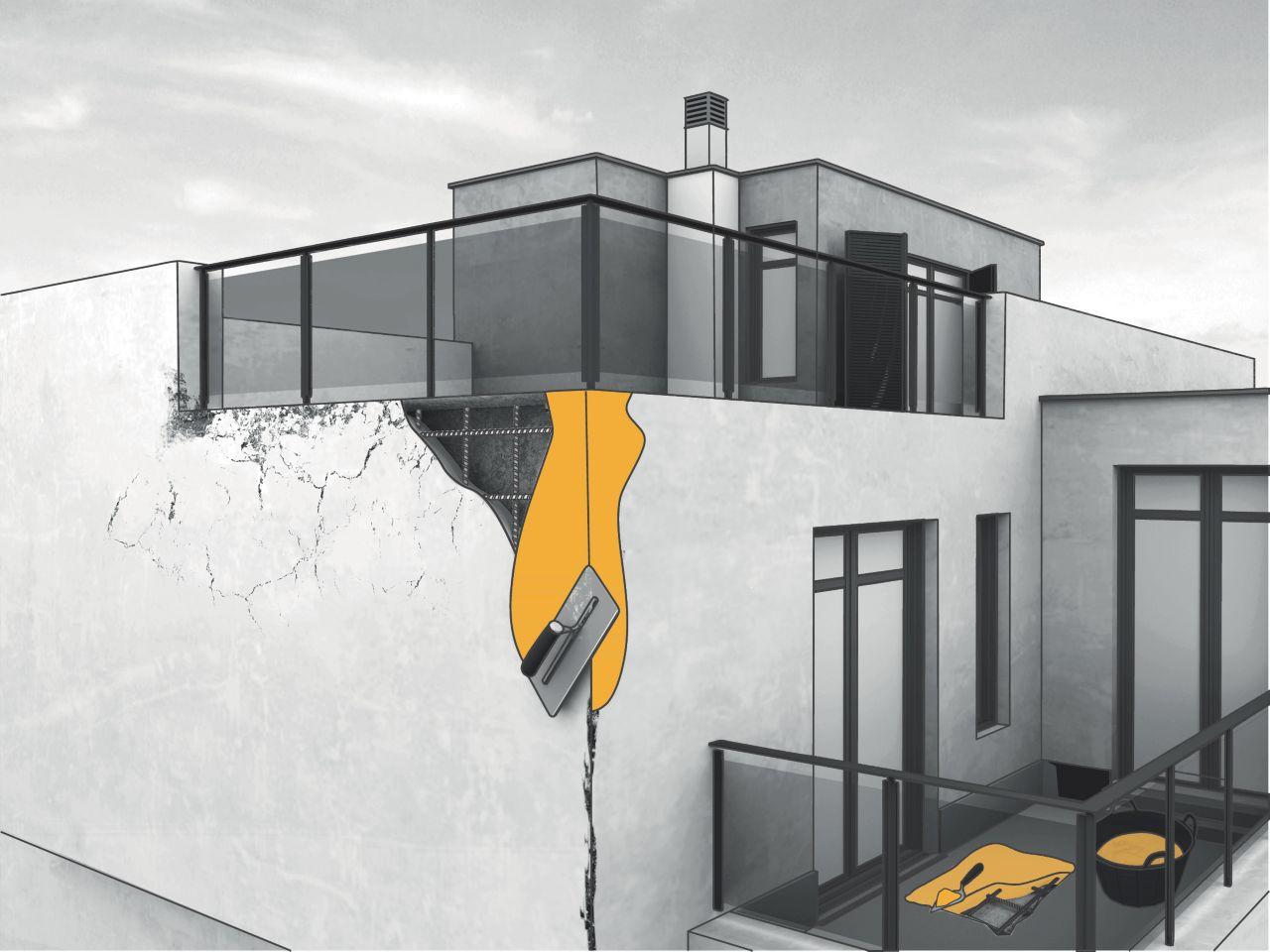 Concrete repair graphic