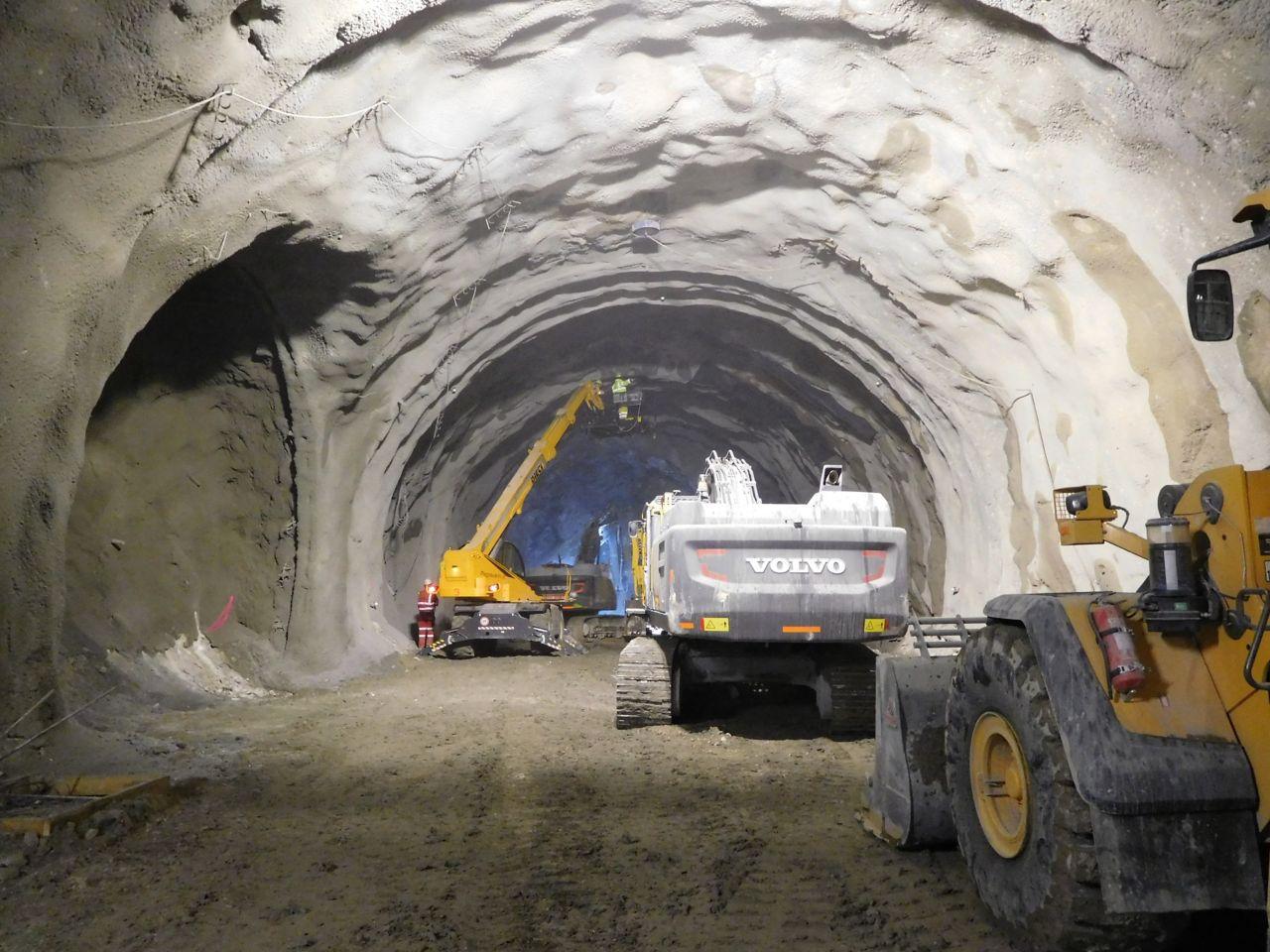 Abdichtung eines Tunnels