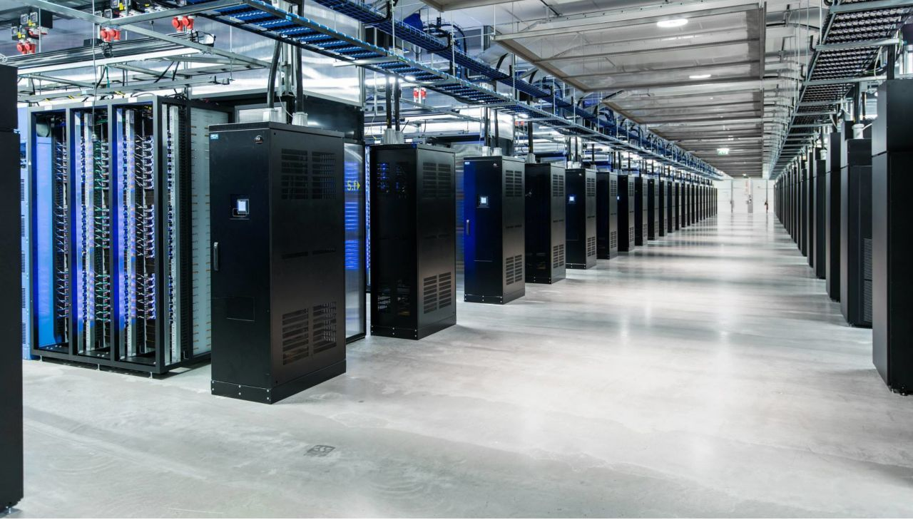 Sika Flooring Solutions applied on the floor of a data center