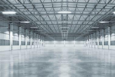 Concrete floor of data center
