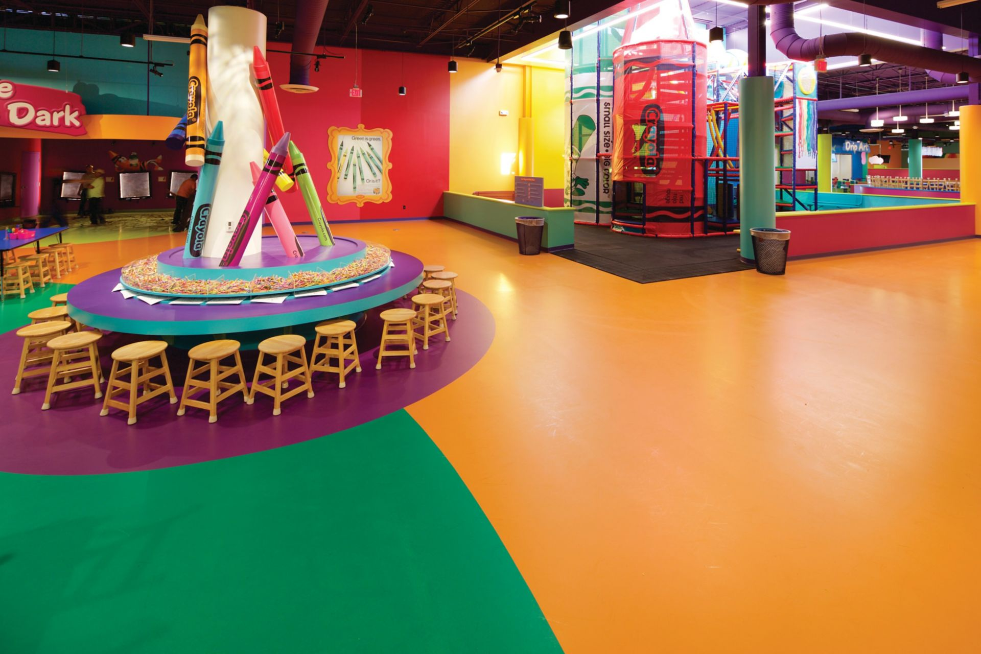 ika Comfortfloor® is a seamless, fluid-applied polyurethane floor system